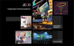 Theme Park Design Company Website