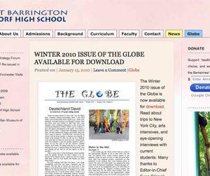 Independent High School Website