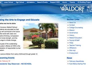 Waldorf School Website