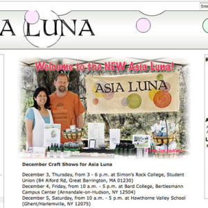 Local Soap and Bath Products Website
