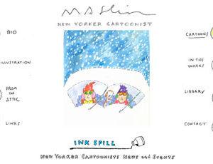 Site for New Yorker Cartoonist Michael Maslin