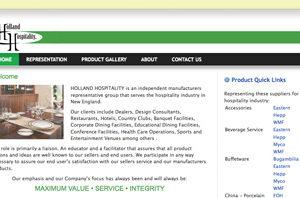 Hospitality Supplier Website