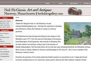 Art Gallery Ecommerce Website