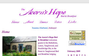 Website For A Bed & Breakfast