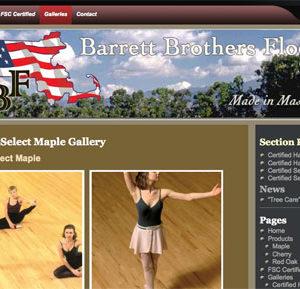 Flooring Supplier Website
