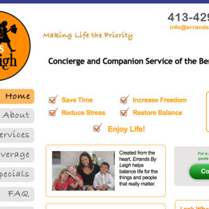 Errand Service Website