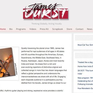 Folk Singer Website