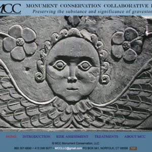Website For Monument Restoration Service