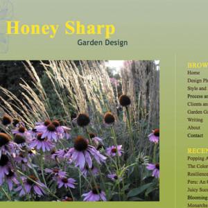 Website For Garden Writer & Designer
