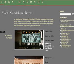 Masonry Website Updated to WordPress