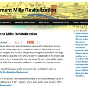 Website for Local Redevelopment Project