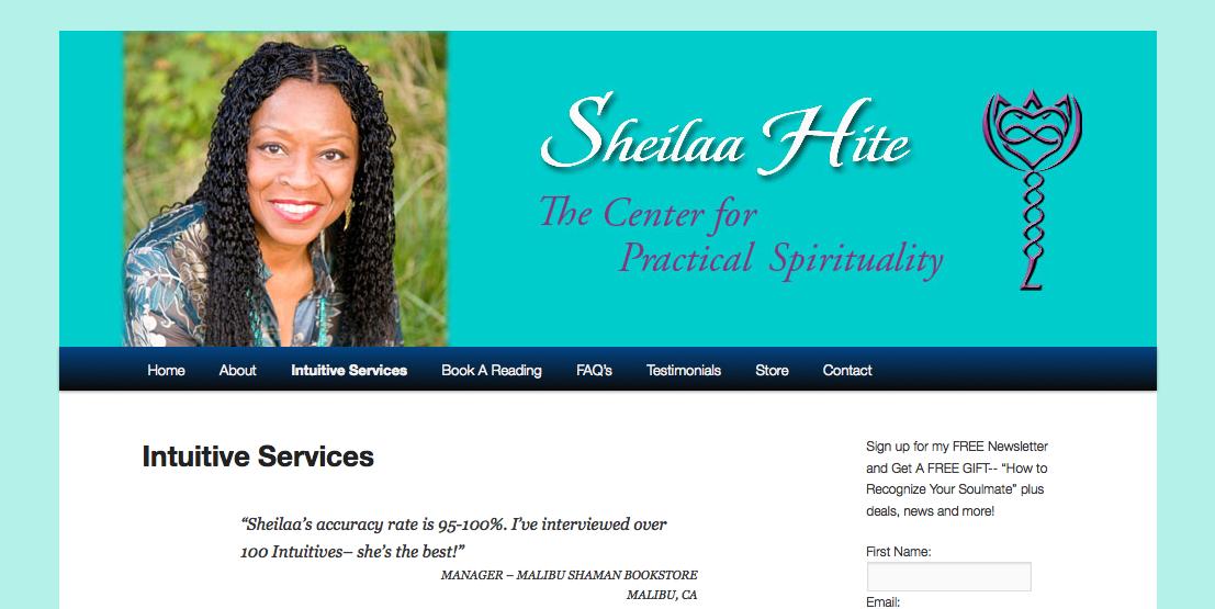 sheilaahite.com
